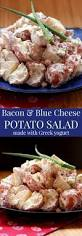 bacon and blue cheese potato salad cupcakes u0026 kale chips