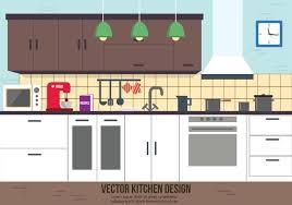 Free Design Kitchen Free Kitchen Vector Design Free Vector Stock
