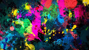 Colorful Pictures Colorful Paint Splatter 1920x1080 904242 Colorful