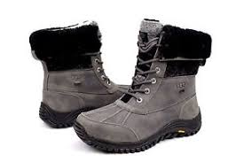 ugg womens boots size 11 ugg womens adirondack ii charcoal color boots size 11 us
