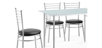 table de cuisine 4 chaises pas cher table ronde rallonge pas cher