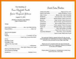 church wedding program template 7 church program template resume reference