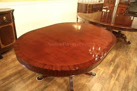 Duncan Phyfe Dining Room Set by 44 Round Mahogany Dining Table With Leaf Mahogany Drum Table