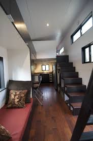 live big life tiny house wheels small home wheels stairs