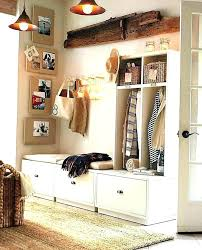 Entryway Storage Bench With Coat Rack White Entryway Storage Shoe Storage Locker White Entryway Storage