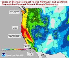Rainfall Map Usa by
