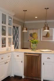 hton bay stock cabinets kitchen love the cream counter tops and ceiling kitchen remodel