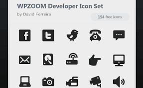 Resume Icons Free 20 Free Beautiful Black U0026 White Icon Sets Codefear