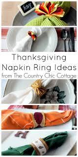 thanksgiving dinner napkins 5 thanksgiving napkin ring ideas fall dinner napkin rings and