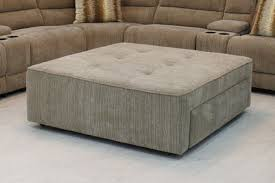 furniture oversized ottoman coffee table for stylish living room
