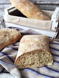 pane ciabatta fatto in casa pane ciabatta