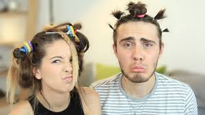zoella does my hair youtube