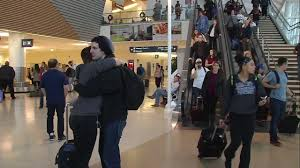 travelers pack sfo for airport s busiest day of the year