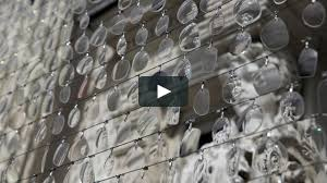 sea see saw a kinetic sculpture built from 14 000 eyeglass lenses
