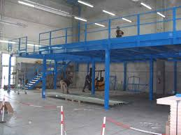 mezzanine structures for office and warehouse steel mezzanine