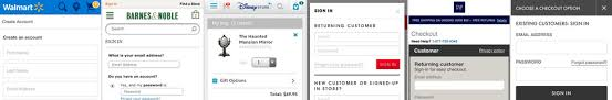 My Barnes Noble Account 678 Mobile E Commerce Design Examples Usability Benchmark