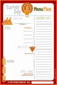 thanksgiving menu template sales report template