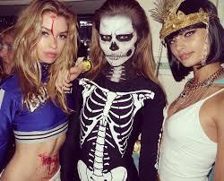 skeleton halloween ideas the best celebrity halloween costumes of 2015 stella maxwell