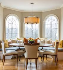 Transitional Dining Room Chairs Banquette Dining Room