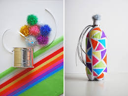 nye noisemakers new year s kids crafts diy colorful noise makers new