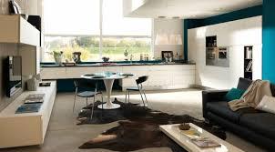 salon de cuisine amenager cuisine ouverte sur salon rutistica home solutions