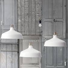 modern white pendant light aluminum shade white pendant light fixture for study