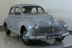 peugeot classic cars peugeot 203 saloon 1950 for sale at erclassics