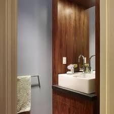 dã nisches design modern scientist residence modern powder room miami touzet
