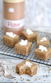 raw carrot cake paleo protein slice amazonia blog