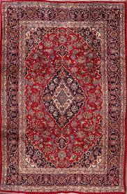 kashan persian area rug