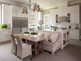 impressive kitchen island with banquette 16 kitchen island with