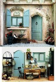 Sweet Coffee Shop France Style Diy Doll House 3d Miniature France Miniature Paris Reviews Of France Miniature