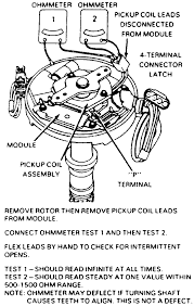 repair guides high energy ignition hei system diagnosis and