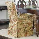 Sure Fit Stretch Pique Shorty Dining Room Chair Slipcover Slipcover Secret Systems