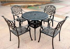 wrought iron balcony outdoor furniture chairs aluminum tables and