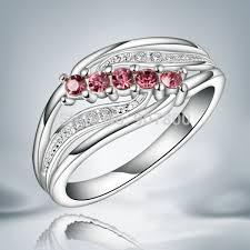 design silver rings images Jr045 beautiful design austrian crystal silver ring classic jpg