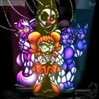 painting fnaf fnaf painting mangled and tangled by moth doll on deviantart