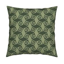 spiral trellis in olive and sage fabric weavingmajor spoonflower