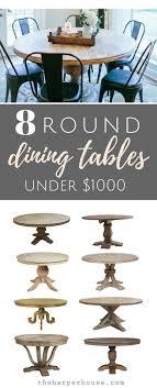 Best  Round Kitchen Tables Ideas On Pinterest Round Dining - Round kitchen dining tables