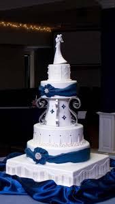 wedding cake royal blue wedding cakes royal blue wedding cake and cupcakes blue wedding