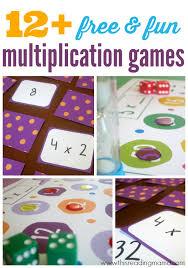 12 free multiplication games for kids