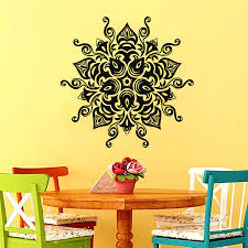 Moroccan Pattern Art Moroccan Wall by Online Shop In Sale Vinyl Wall Art Decals Namaste Om Mandala
