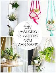 diy planters 21 diy hanging planters you can make make and takes