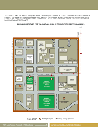 phoenix convention center directions hotel info