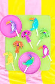 tropical drink emoji tropical gumball popsicles studio diy
