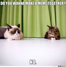 Lil Bub Meme - lil bub and grumpy cat by cuteasfuck meme center