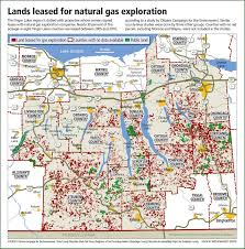 Map New York State New York State Leased Lands Map Coalition To Protect New York
