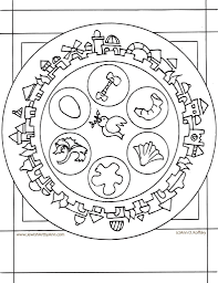 passover coloring pages fablesfromthefriends com