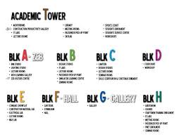Bca Floor Plan Campus Map