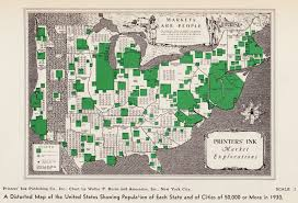 Population Map Of The United States by Vintage Infographics Visualizations Of American Population